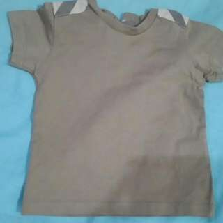 Burberry Kids Baby Boy T-shirt Top Baju 6m