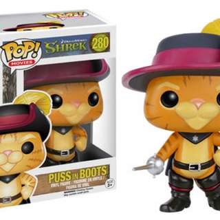 Funko POP! - Puss In Boots