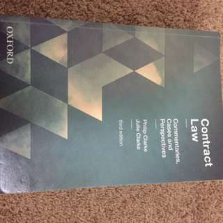 Contract Law Commentaries, Cases And Perspectives 3ED.