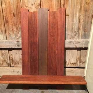 Timber Wall Shelf