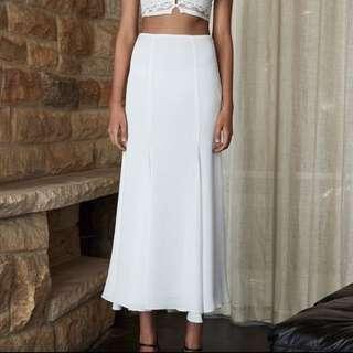 White ShonaJoy Skirt