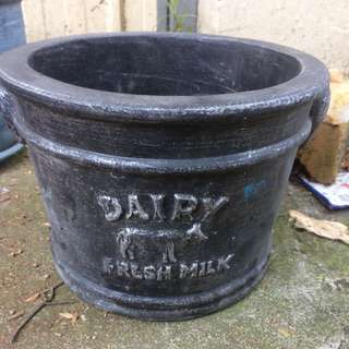 Dairy Garden Pot