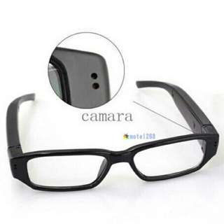 (Po)Mini HD 720P Spy Camera Glasses Hidden Eyewear DVR Video Recorder Cam Camcorder