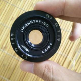 蘇聯 M39鏡頭 Industar 50