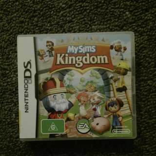 My Sims Kingdom on DS