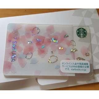 日本 最新 星巴克 櫻花 特別版 儲值卡 Japan starbucks card 大卡 包郵