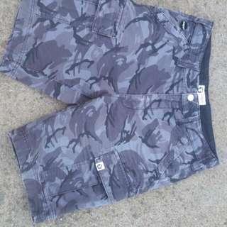 BAPE AAPE shorts Cargo Pants Camo