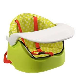 Multifunctional Portable Kid Dining Chair Booster Cushioned Seat