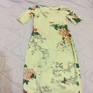 Dress Flower Zara