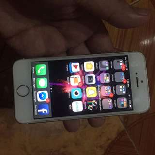 Iphone 5s a16gb Factory Unlocked
