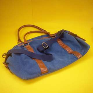 BLUE DUFEEL BAG