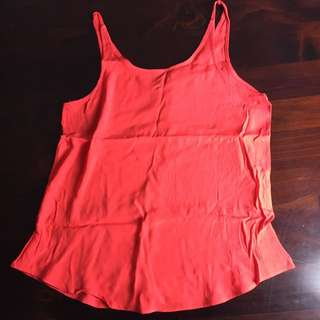 Coral Size 12 Top