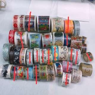 #我要賣紙膠帶 ‼️紅色刪除線的為已售出