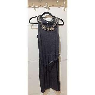 Mango Grey Dress (Nett price)