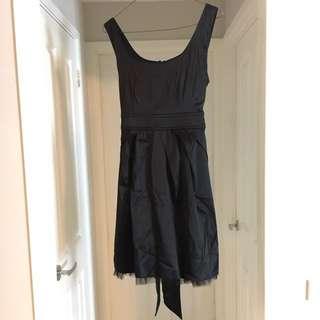 Caroline Morgan Size 12 Black Dress