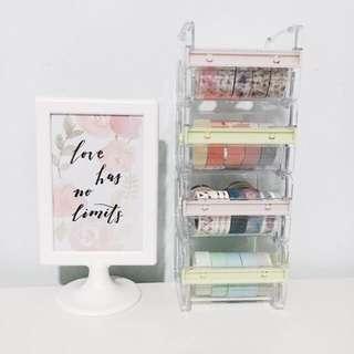 customised lettering frame 🌈