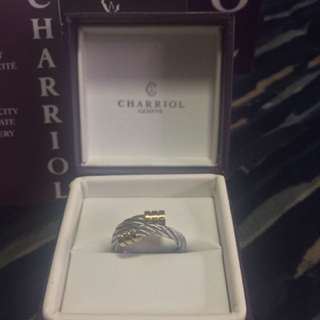 REPRICED!  Authentic Charriol Celtic Collection Ring