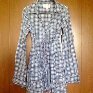 F&X Long Checkered Top (Dress Type)