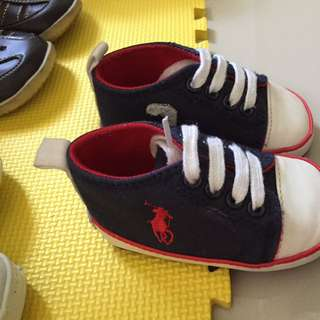 Sepatu Baby POLO Uk 2