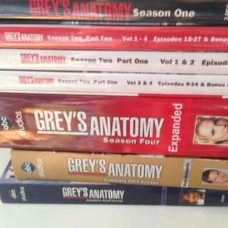 Greys Anatomy Complete Seasons