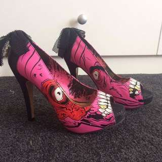 Iron Fist Zombie Stompers Pink