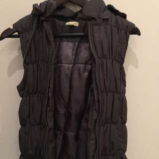 Size 8 Avocado Puffer Vest