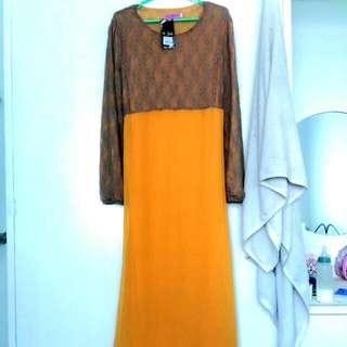 #FreePostage ✔📫Lace Dress Jubah