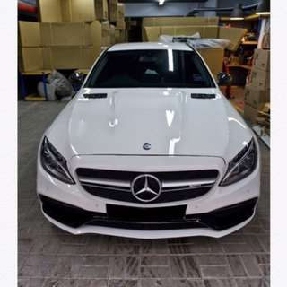Mercedes Amg body kit