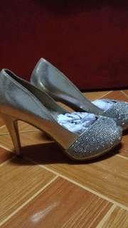 Rusty Lopez Peep Toe High Heels