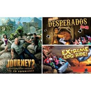 4D Adventureland Open Date Eticket