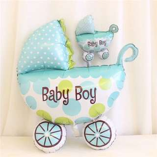 Baby Boy Party Foil Balloons
