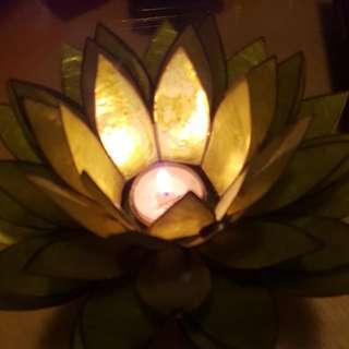 Lotus Tea light Candle Holder