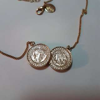 Lovisa Gold Coin Necklace