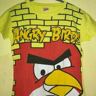Kaos Wanita Angry Bird