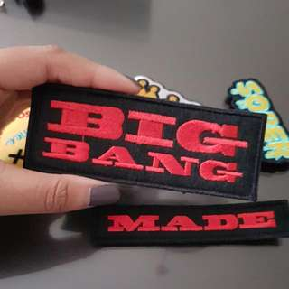 "BIGBANG ""MADE"" PATCH"