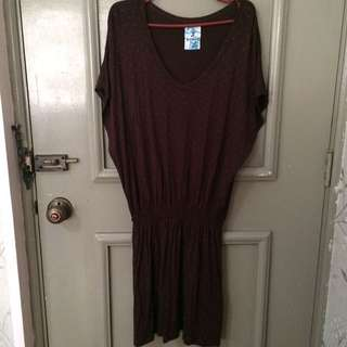 Jellybean Brown Dress