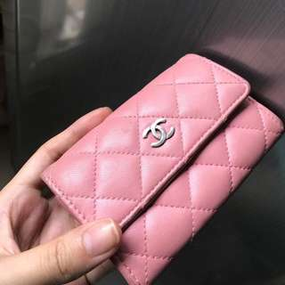 Chanel Baby Pink Card Holder