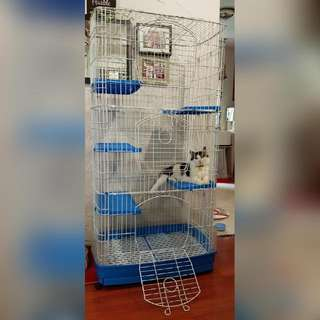 5 tier cage for cats