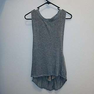 Free People Layered Cut-out Tank Top Or Singlet