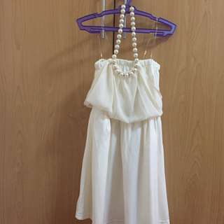 Petit Monde White Dress