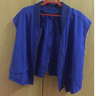 HK Royal Blue Vest