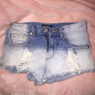 Size 6 Denim Shorts
