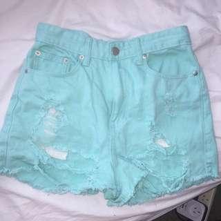 Size 8 Denim Shorts