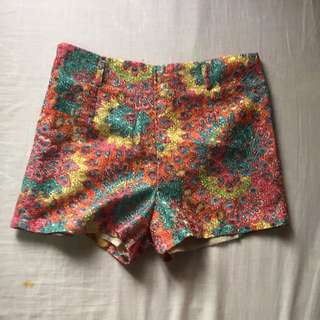 SM GTW HW Colorful Shorts