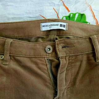 Uniqlo Paris Corduray Pants Size 29-30