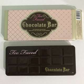Too Faced Chocolate Eye Shadow Bar Palette