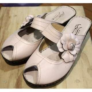 小花魚口鞋