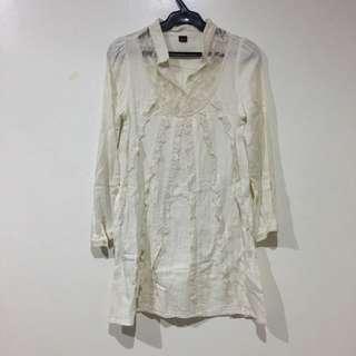 Korean Linen Shirtdress