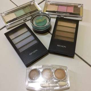 eyeshadow maybelline, maybelline colour tatto, revlon, just miss