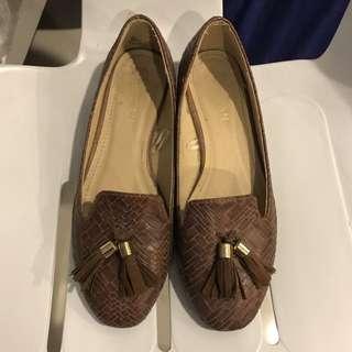 Parisian Brown Leather Shoes